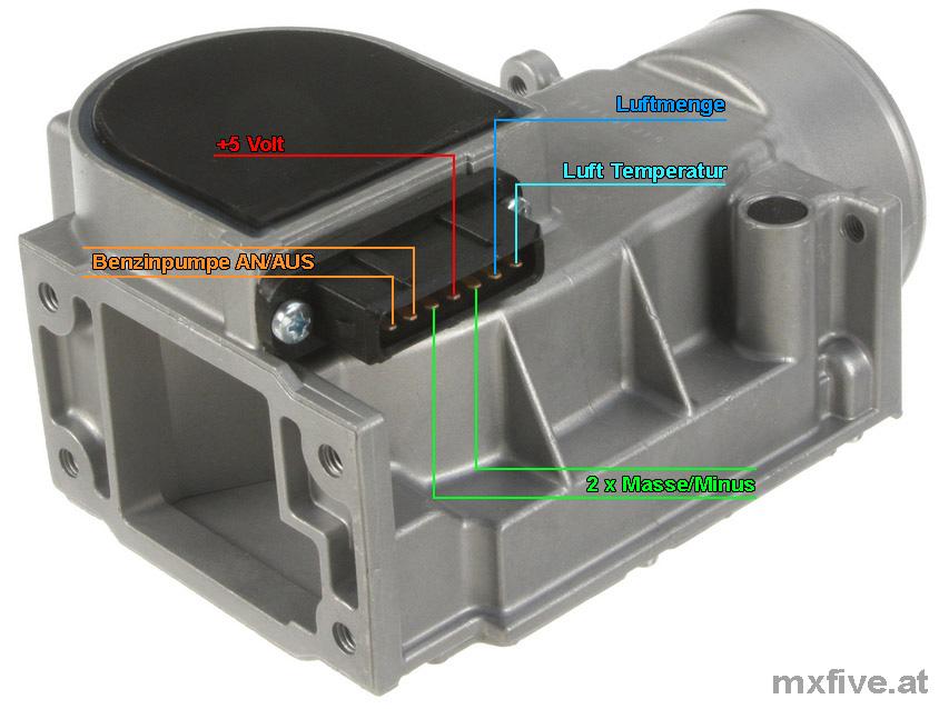 Mazda MX-5 Luftmengenmesser LMM