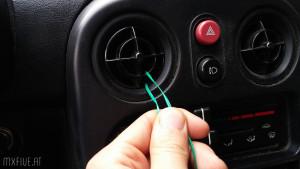 Mazda MX-5 Luftungskugel entfernen