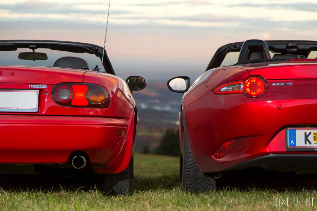 Mazda MX-5 NA und ND im Vergleich