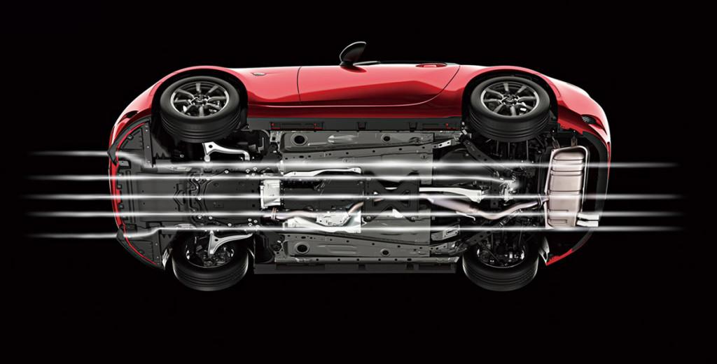 Mazda MX-5 ND Unterboden