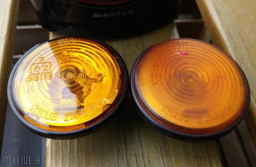 MX-5 Blinker restaurieren
