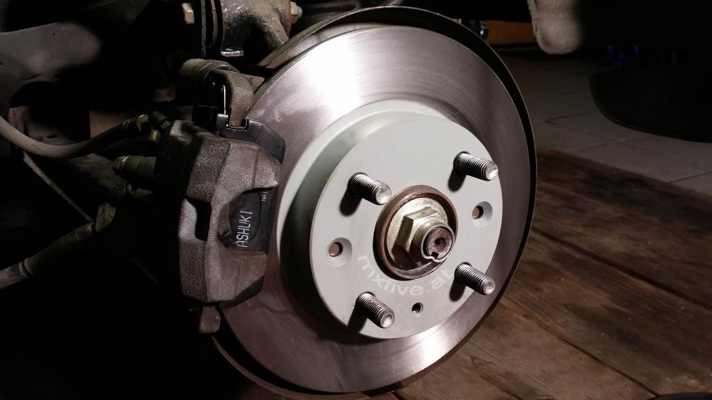 Mazda MX-5 Bremse hinten