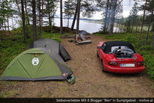 Camp am Malmesjaure