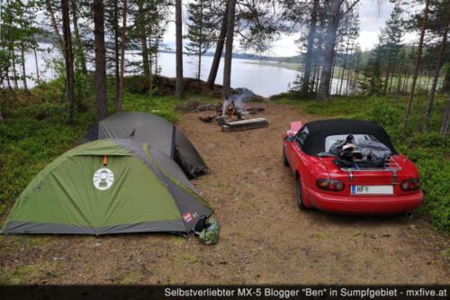 Camp am Malmesjaure