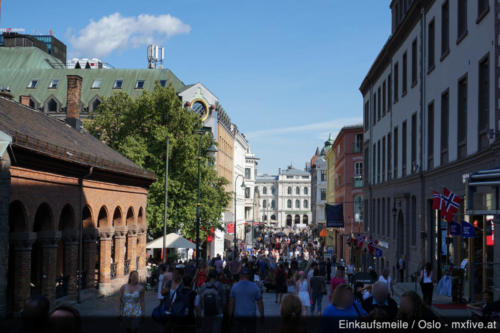 Oslo Einkaufsstraße